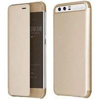 Star-Case Milo Huawei P10 Flip Cover - Guld