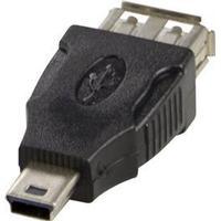 Deltaco USB Mini B - USB A 2.0 M-F