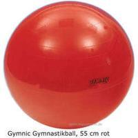 GYMNIC Ball Gymnastikball, Sitzball, 55 cm, rot