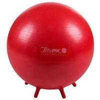 Gymnic Sit'n Gym Sitzball,Gymnastikball,  ø 55 cm rot