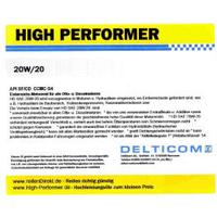High Performer HD SAE 20W-20 Einbereichsöl 20 Liter Kanister