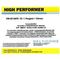 High Performer 5W-30 SAPS C2 Peugeot+Citroen 1 Liter Dunk