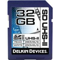 Delkin Cinema SDHC UHS-II U3 V30 280/250MB/s 32GB