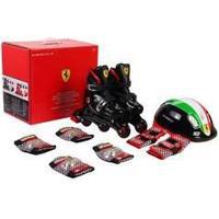 Ferrari Inliners Rulleskøyter 29-32 Komplet set