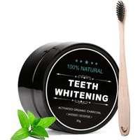 Tandblekning (aktivt kol) charcoal teeth whitening - vita tänder 1a0afd217301d