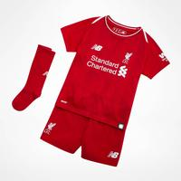 New Balance Liverpool FC Home Jersey Kit 18/19 Youth
