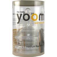 Yoomi Medium Flow Teats 2+ months 2-pack