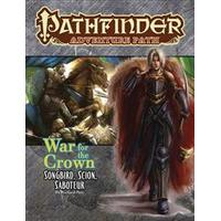 Pathfinder Adventure Path: Songbird, Scion, Saboteur (War for the Crown 2 of 6) (Häftad, 2018)
