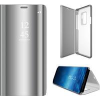 Samsung Galaxy S9 Plus - Clear View fodral - Sølv