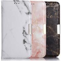 Apple iPhone 7 Plus Plånboksfodral Marmor - tre olika färger!