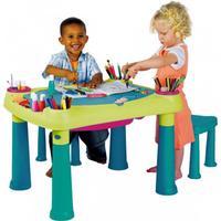 KETER CREATIVE PLAY TABLE Spieltisch, Kreativtisch grün/türkis 17184184