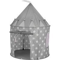 Kids Concept pop-up telt grå med stjerner
