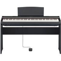 Yamaha P-125 B svart el-piano med L125 ben