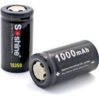 Soshine 1000 mAh 18350 batteri