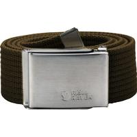Fjällräven Canvas Belt Unisex Dark Olive