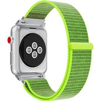 Suwon velcro rem til Apple Watch-Grøn-42 mm