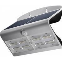 Væglampe LED Solcelle m. PIR 6,8W