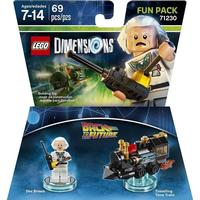 LEGO Dimensions: Fun Pack - Doc Brown (Back To The Future) /Leksaker för spel