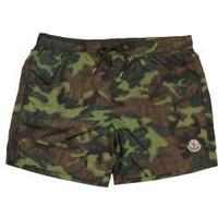 Moncler Swim Shorts - Green