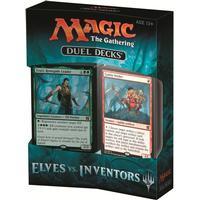 Magic The Gathering Duel Deck - ELVES vs. INVENTORS Kort Spel