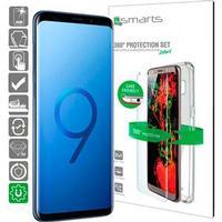 Samsung Galaxy S9+ 4smarts 360 Premium Beskyttelsessæt - Case Friendl
