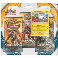 Poke Blister 3-pack, Sun & Moon 1, Togedemaru, Pokémon
