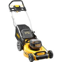 DeWalt DCMW564 Twin 18v XR Cordless Brushless Lawnmower 480mm 2 x 5ah Li-ion Charger