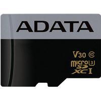 ADATA minneskort, Micro SDHC, 32GB, UHS speed 3, speed class 10, svart