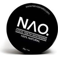 NAO. Coco Teeth Whitening (30 g) + Gratis Bambus Tandbørste