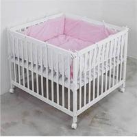 Babytrold-Kravlegårdstæppe Rød Strib