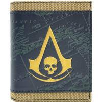 Assassins creed black flag brons plånbok handväska