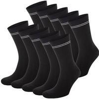 Frank Dandy - 10-pack Cotton Socks Black