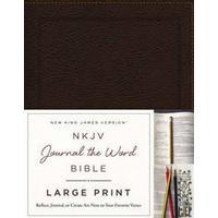 NKJV Journal the Word Bible (Pocket, 2016)