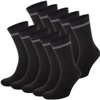 Frank Dandy 10-pack Cotton Socks - Black - Strl 36/40 * Kampanj *