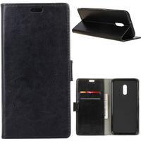 Alcatel 1x plånboksfodral / fodral - svart