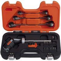 BAHCO pistol-skraldeskruetrækker- og ringskraldenøglesæt 808050P-25