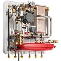 METRO THERM METRO System 5 fjernvarmeunit indirekte opvarmning tilslutning til ekstern beholder.