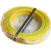 Nexans Installationsledning PVL 1x2,5 mm² i gul/grøn - 100 meter