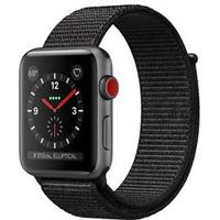 Apple Watch Series 3 GPS + Cellular 38mm Space Grey AL Black Sport Loop