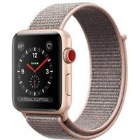 Apple Watch Series 3 GPS + Cellular 38mm Gold AL Pink Sand Sport Loop
