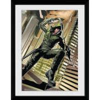 DC Comics Arrow Cover Green - 30x40 Collector Prints