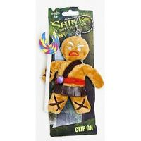 Shrek - Gingerbread Man (Gingy) Keychain *Crazy Udsalg*