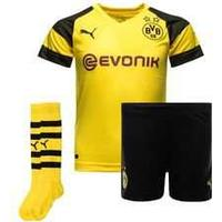 Puma Borussia Dortmund Home Jersey Kit 18/ Youth