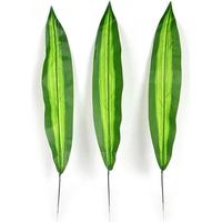 Artificial Brazil Leaf Branch Plants 10pcs