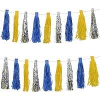 f52926bf Blå gul girlang Festprodukter - Jämför priser på PriceRunner