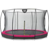 Exit Silhouette Ground Trampoline + Safety Net 366cm