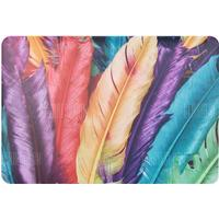 Colorful Feather Hard PC Protective Smooth Rubberized Cover for Macbook Air 13