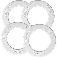 Bones Bearings Ceramic Super Reds Replacement Shields, Kugellager, white