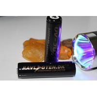 2 stk. Ravlygten UV JUICE 3400 MAH V. 18650