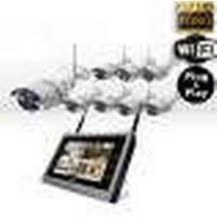 Plug-n-Play WiFi IP overvågningspakke - JKS1808W